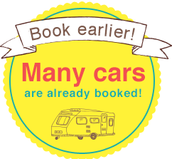 Book earlier!Many cars are already booked!