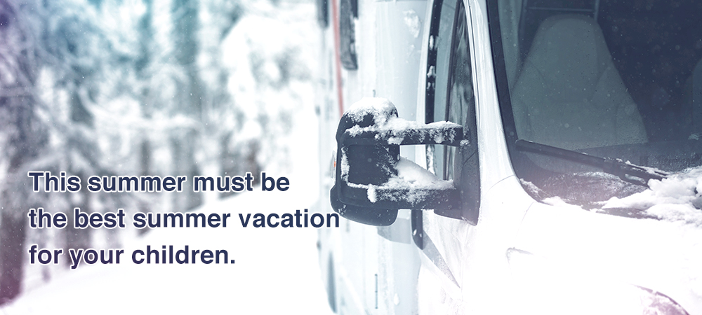 This winter must be the best winter vacation for your children.